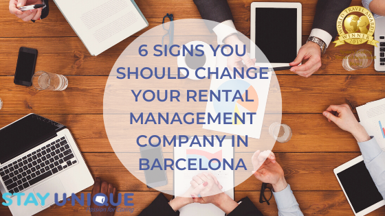 6 Signs you Should Change your Rental Management Company in Barcelona