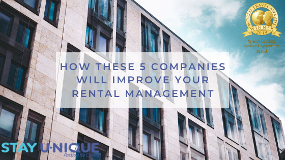 How these 5 Companies will Improve your Rental Management