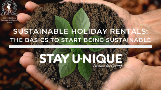 Sustainable Holiday Rentals: The Basics to Start Being Sustainable