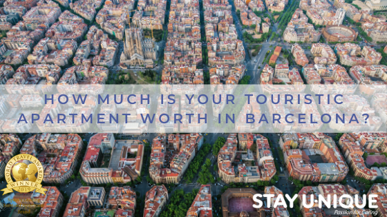 How Much is your Touristic Apartment Worth in Barcelona?
