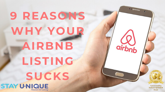 9 Reasons Why Your Airbnb Listing Sucks