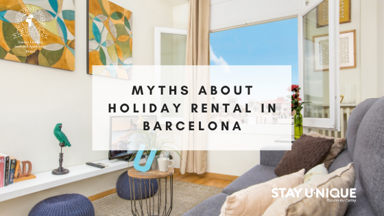 Myths about Holiday Rental in Barcelona
