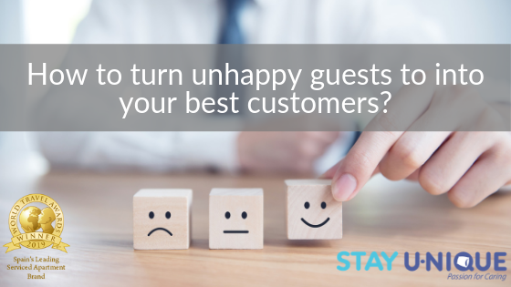 How to turn unhappy guests to into your best customers?