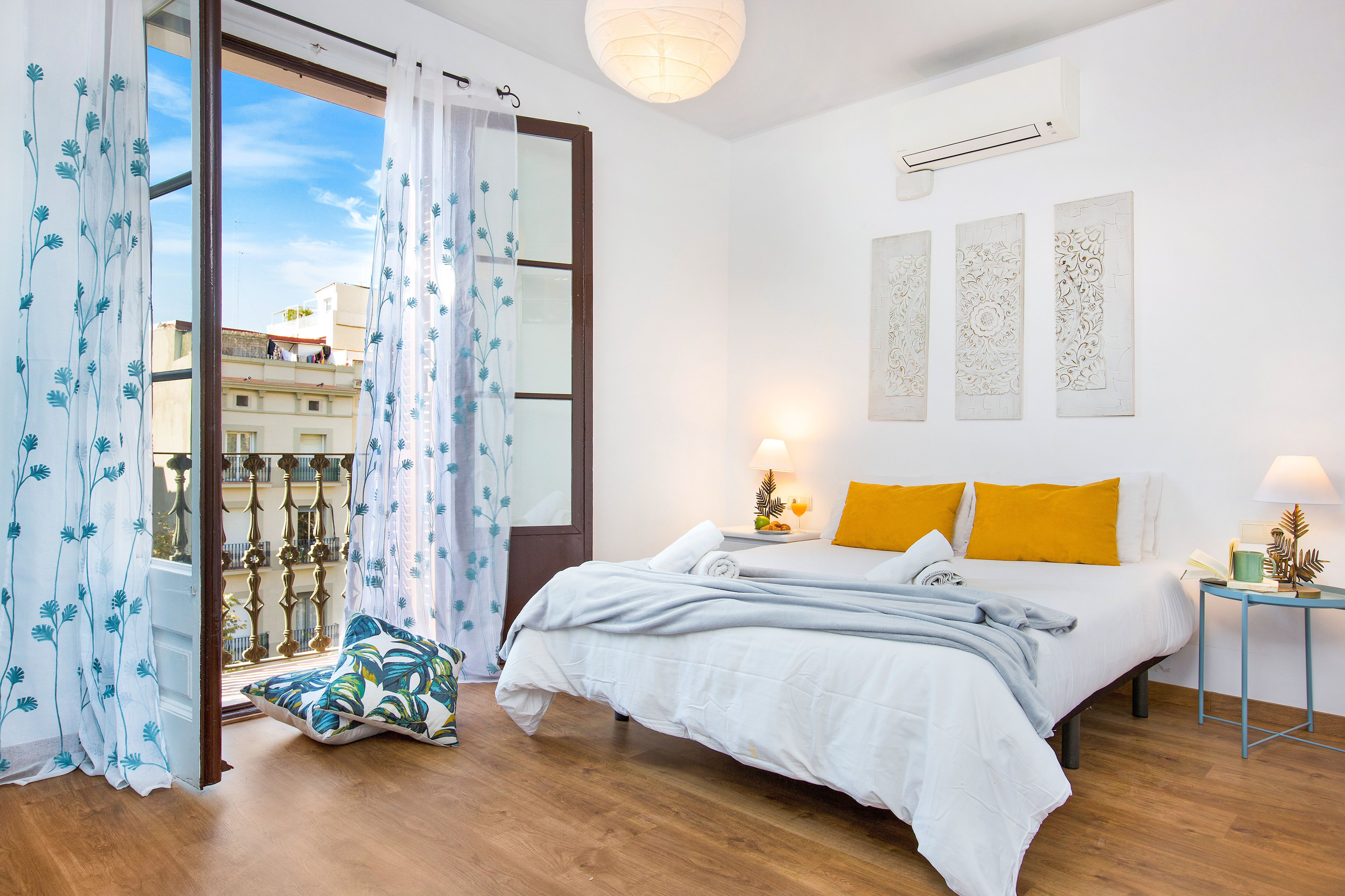 Decoration of touristic apartments in Barcelona