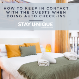 How to Keep in Contact with the Guests when Doing Auto Check-ins