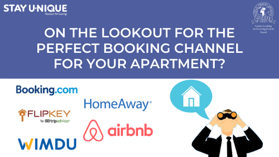 On the Lookout for the Perfect Booking Channel for your Apartment?