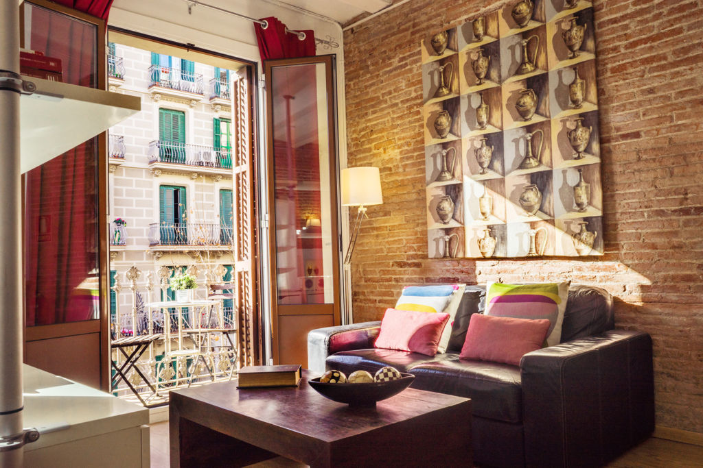 One of our apartments in Eixample