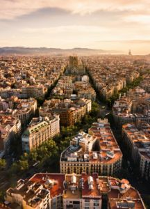 city view Barcelona